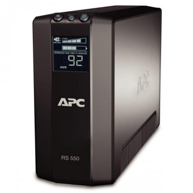 APC Back-UPS Pro uninterruptible power supply (UPS) Line-Interactive 550 VA 330 W 6 AC outlet(s) Black