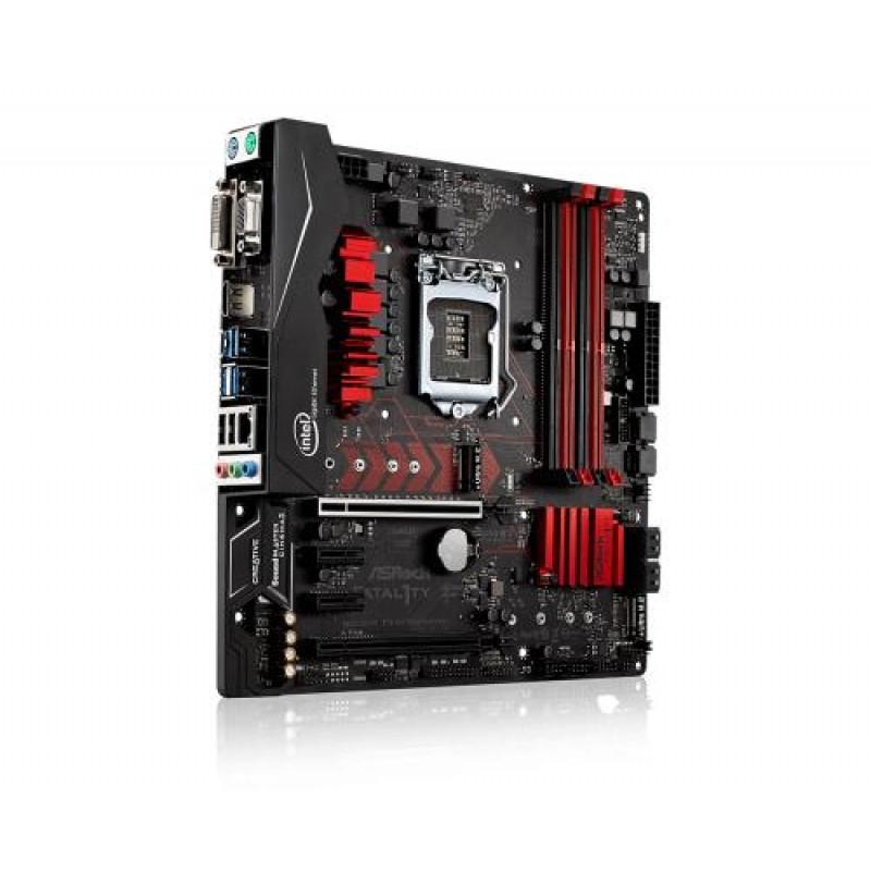 Asrock Fatal1ty B250M Performance LGA 1151 (Socket H4) Intel® B250 Micro ATX