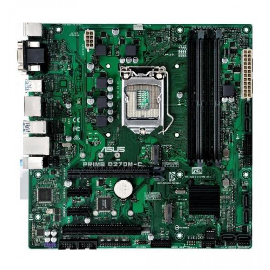 ASUS PRIME Q270M-C motherboard LGA 1151 (Socket H4) Intel® Q270 Micro ATX