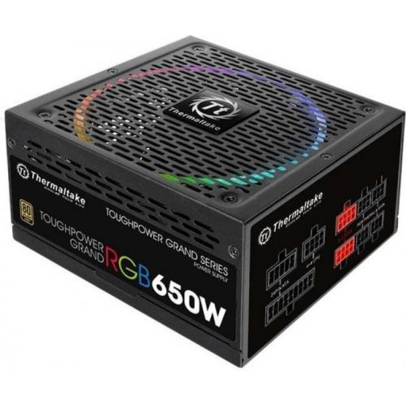 Thermaltake Toughpower Grand RGB power supply unit 650 W ATX Black