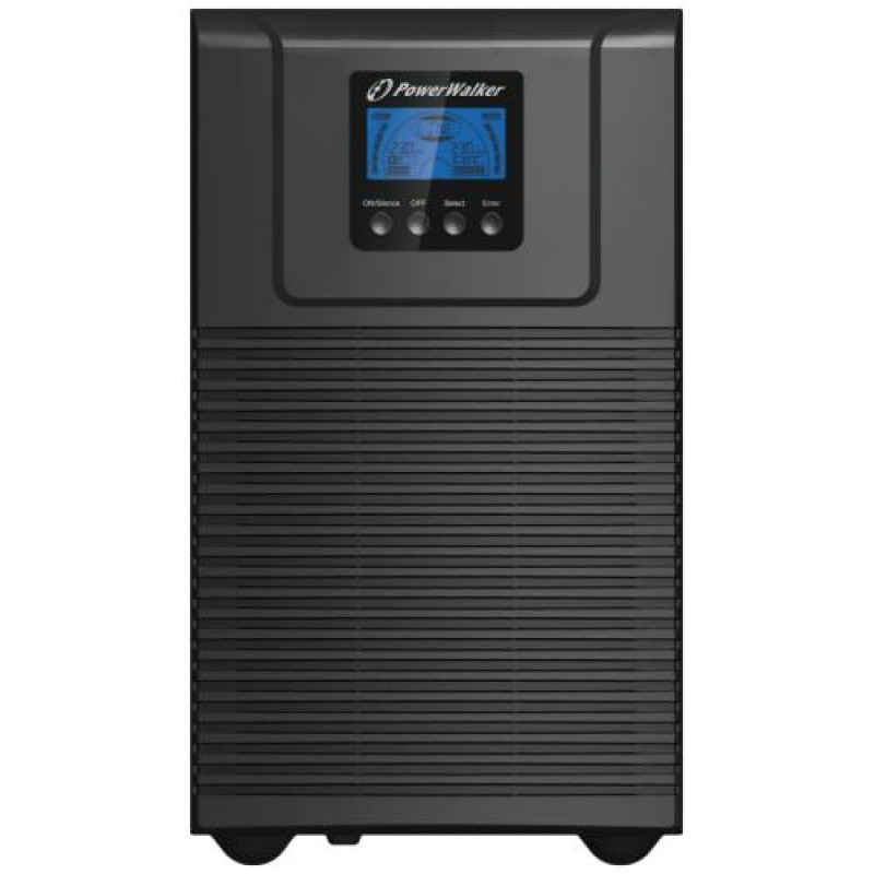PowerWalker VFI 2000 TGS uninterruptible power supply (UPS) Double-conversion (Online) 2000 VA 1800 W 6 AC outlet(s) Black