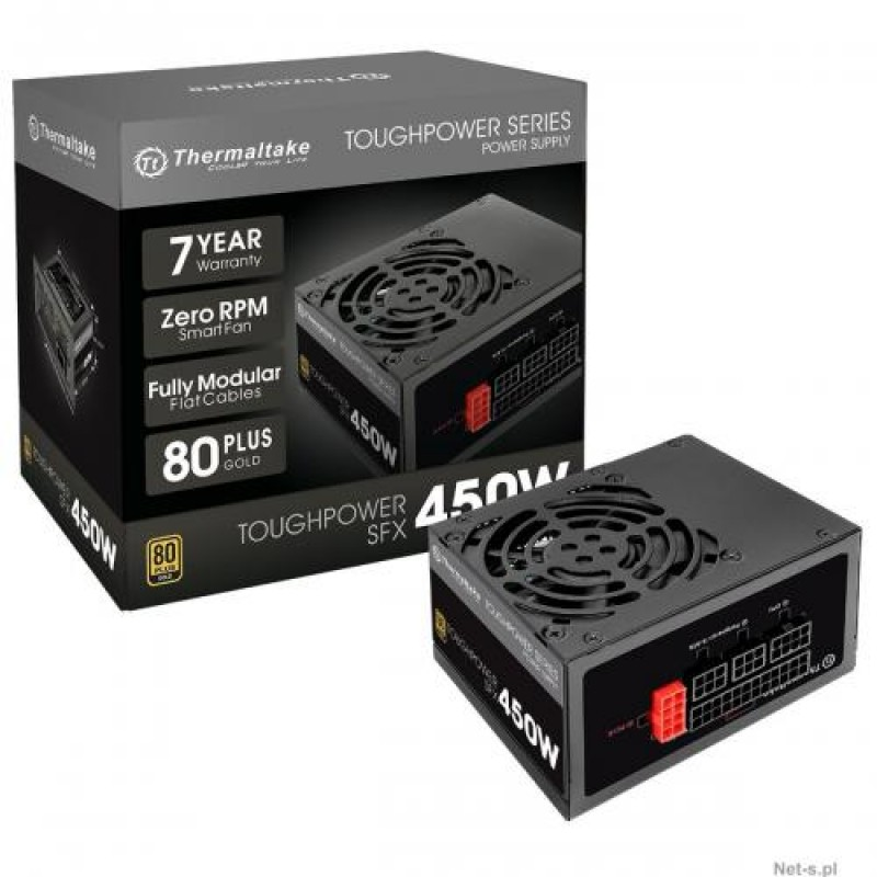 Thermaltake Toughpower SFX Gold power supply unit 450 W Black