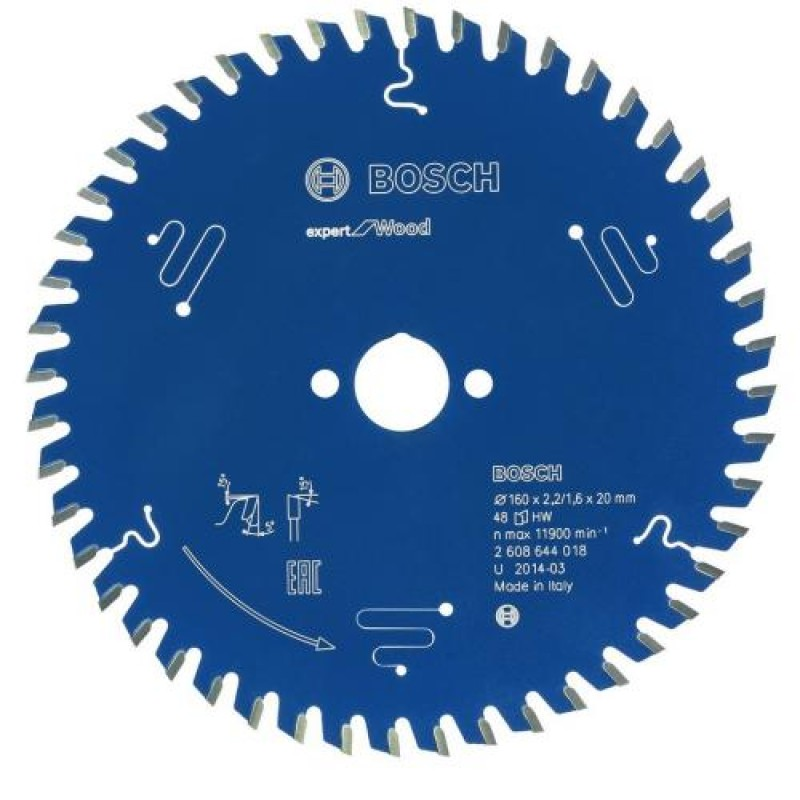 Bosch Kreissgeblatt Expert for Wood160mm
