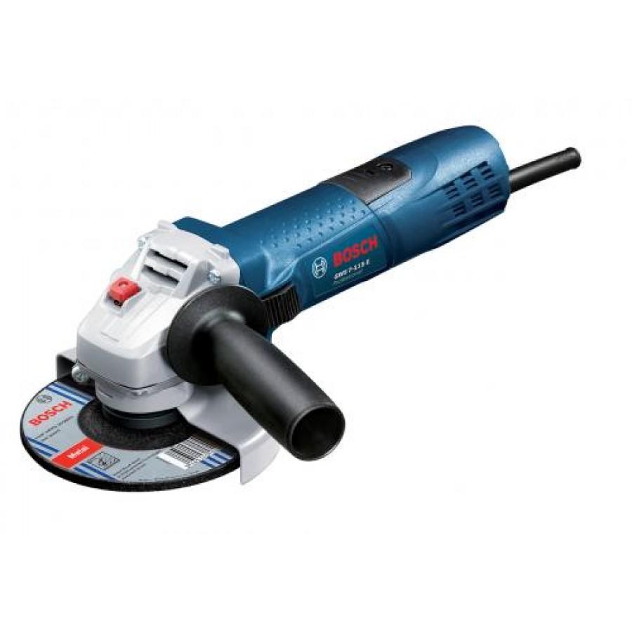 Bosch GWS 7-115 E Professional angle grinder 11000 RPM 720 W 11.5 cm 1.9 kg Black,Blue