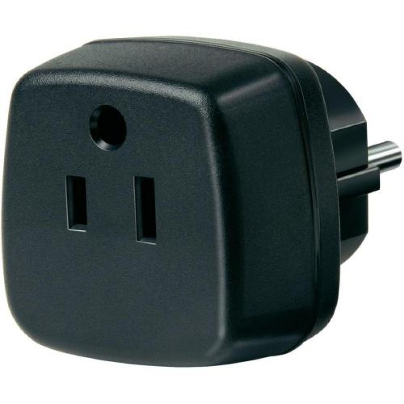 Brennenstuhl Travel Adapter USA, Japan/earthed power adapter/inverter Black