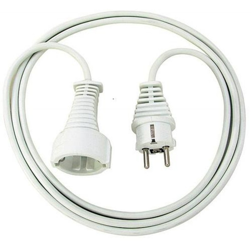 Brennenstuhl Quality Cable power cable White 5 m