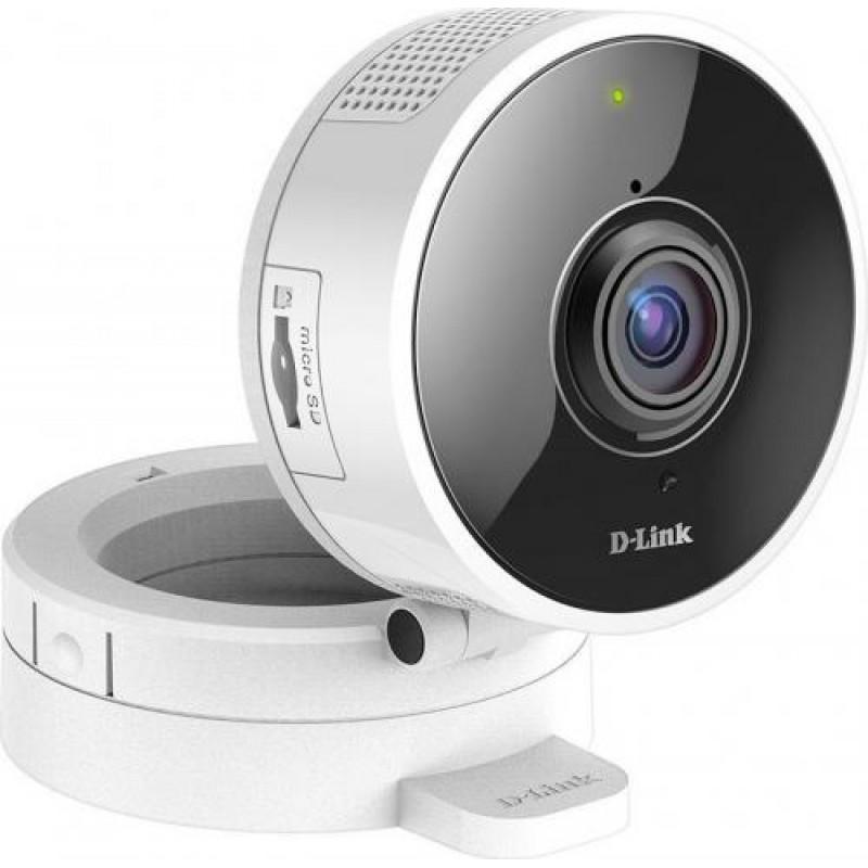 D-Link HD 180 Graden IP security camera Indoor Cube Ceiling/Wall 1280 x 720 pixels White