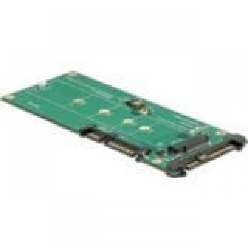 DeLOCK 62864 interface cards/adapter M.2 Internal Black,Green