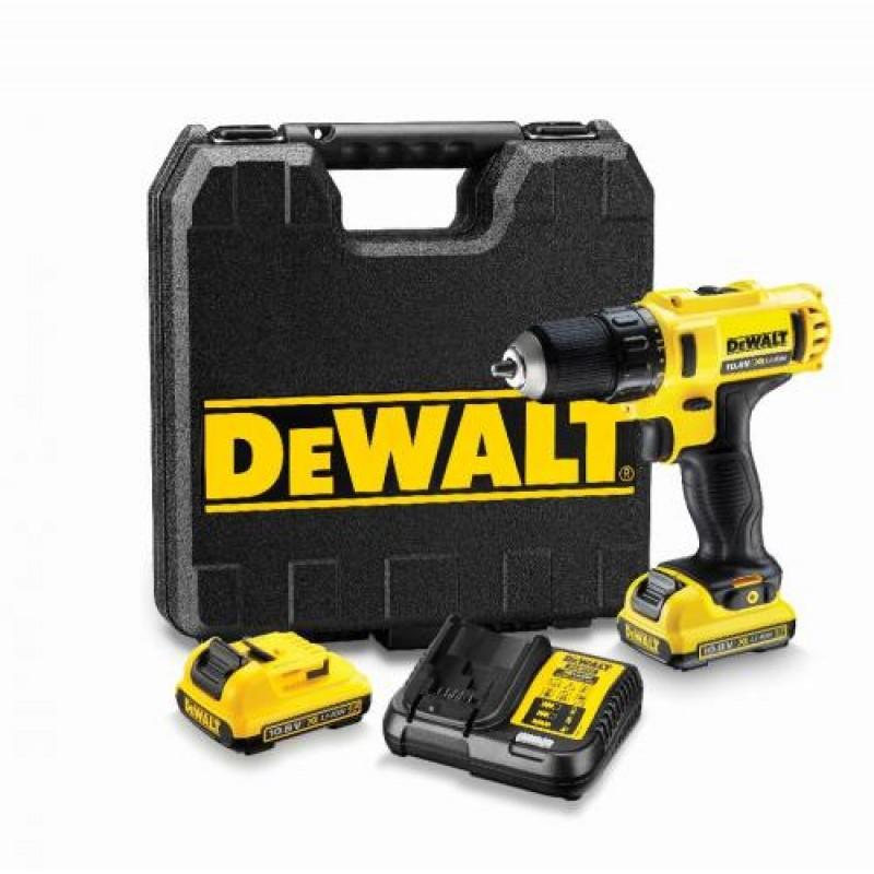 DeWalt DCD710D2QW 108V 2x 2 Ah Cordless Drill Driver  Case