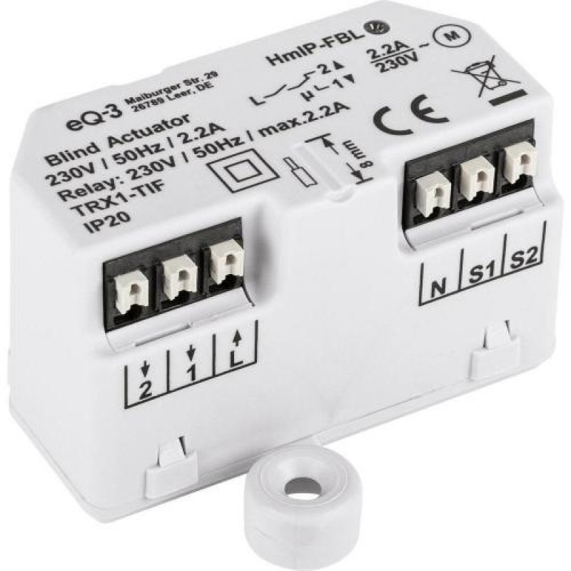 Homematic IP HmIP-FBL blind/shutter accessory Transmitter White