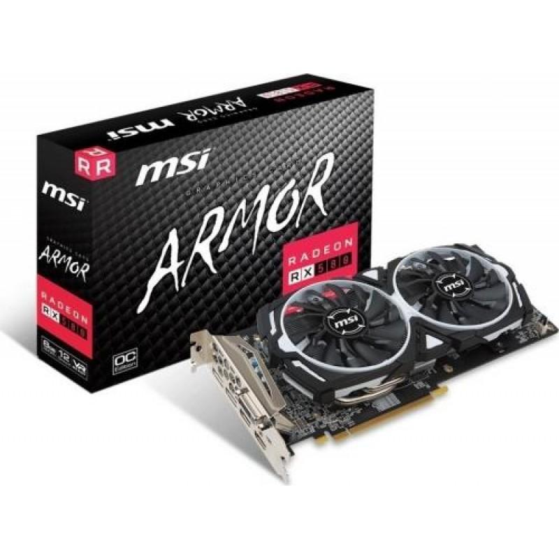 MSI Radeon RX 580 ARMOR 8G OC Black,White