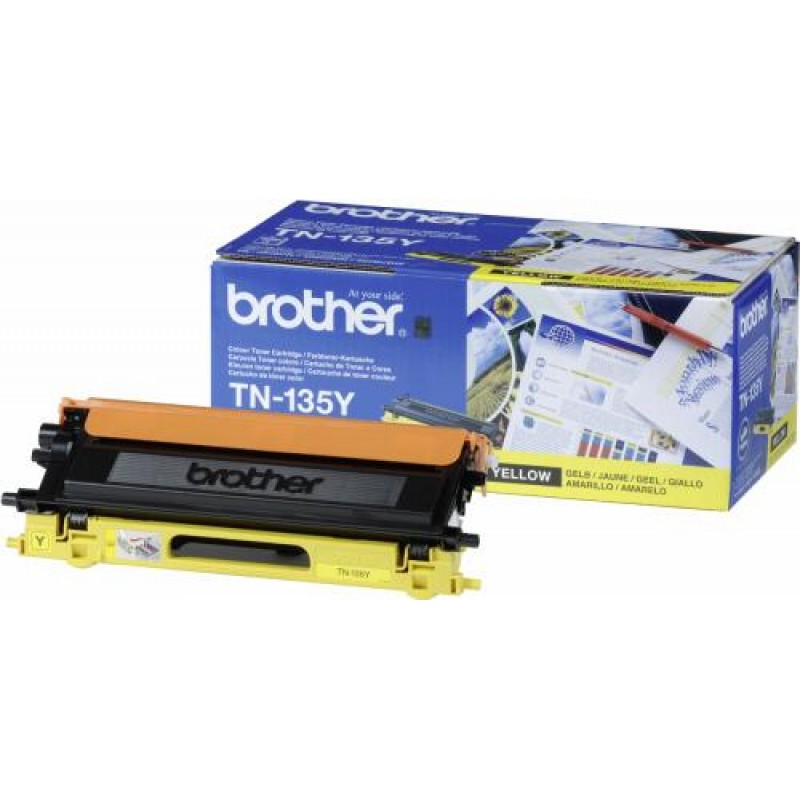 Brother TN135Y Original Yellow 1 pc(s) Yes
