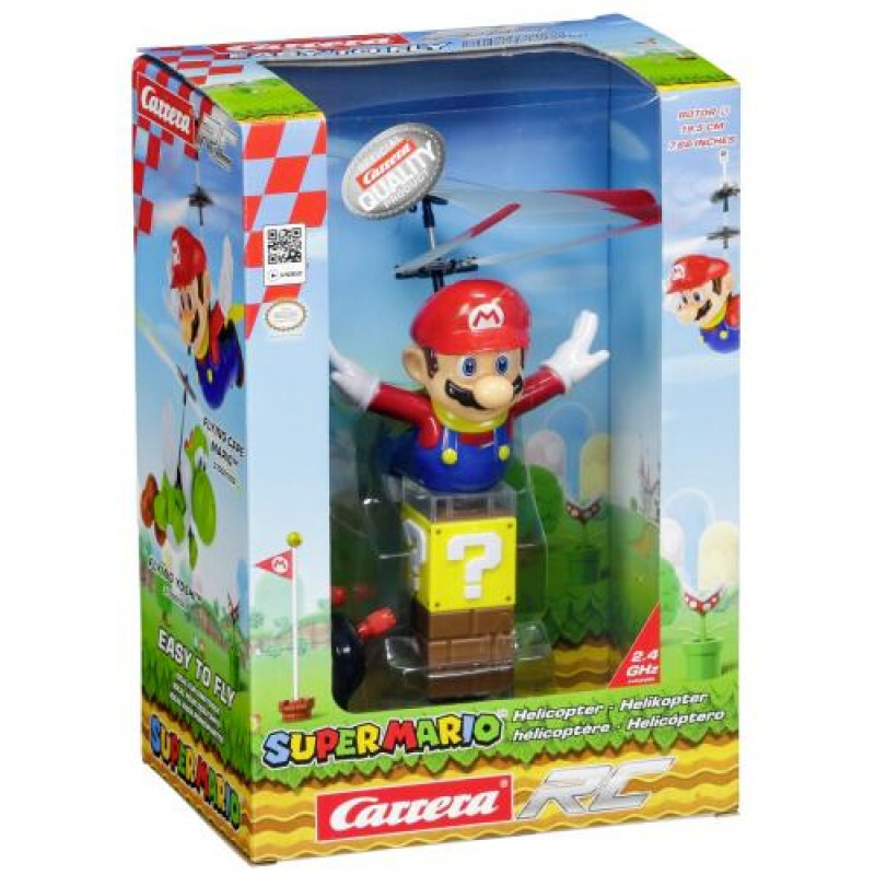 Carrera Toys Super Mario - Flying Cape Mario Radio-Controlled (RC) helicopter Ready-To-Fly (RTF) Electric engine Multicolor