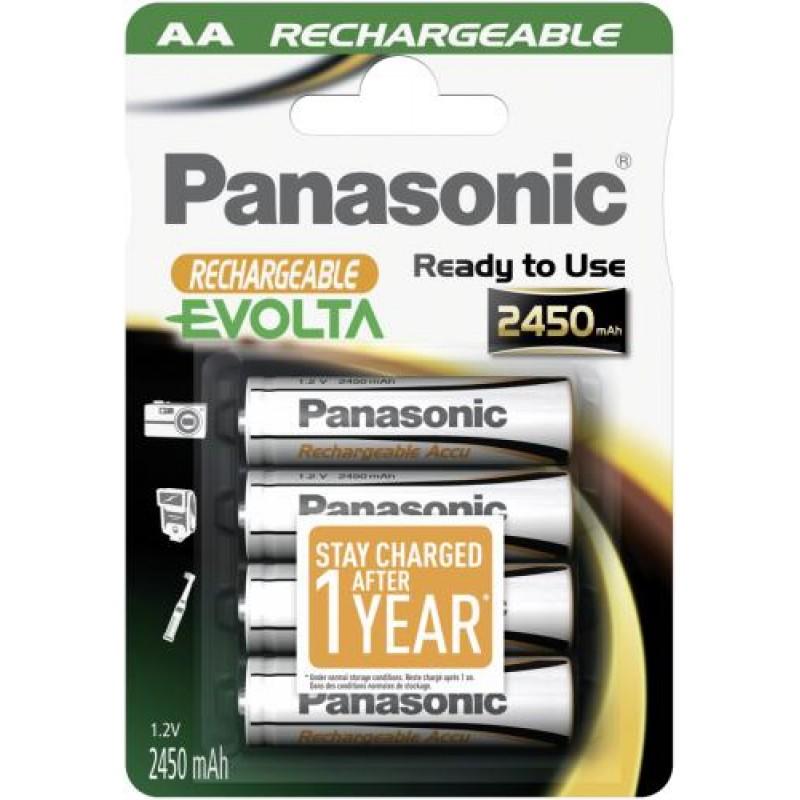 Panasonic NiMH Mignon AA 2450mAh Nickel-Metal Hydride (NiMH) 1.2 V