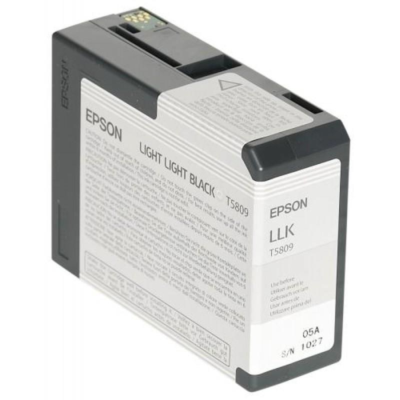 Epson ink cartridge light light black T 580  80 ml        T 5809