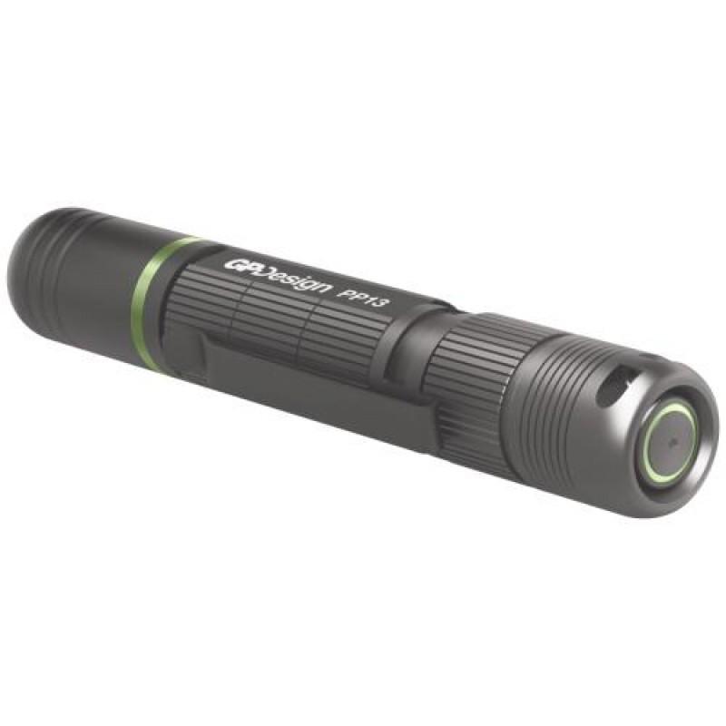 GP Batteries PP13 Hand flashlight Black LED