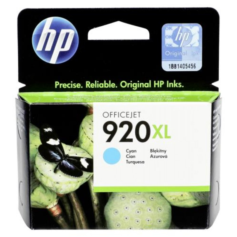 HP CD 972 AE ink cartridge cyan No 920 XL