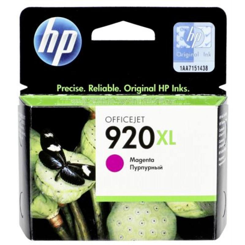 HP CD 973 AE ink cartridge magenta No 920 XL