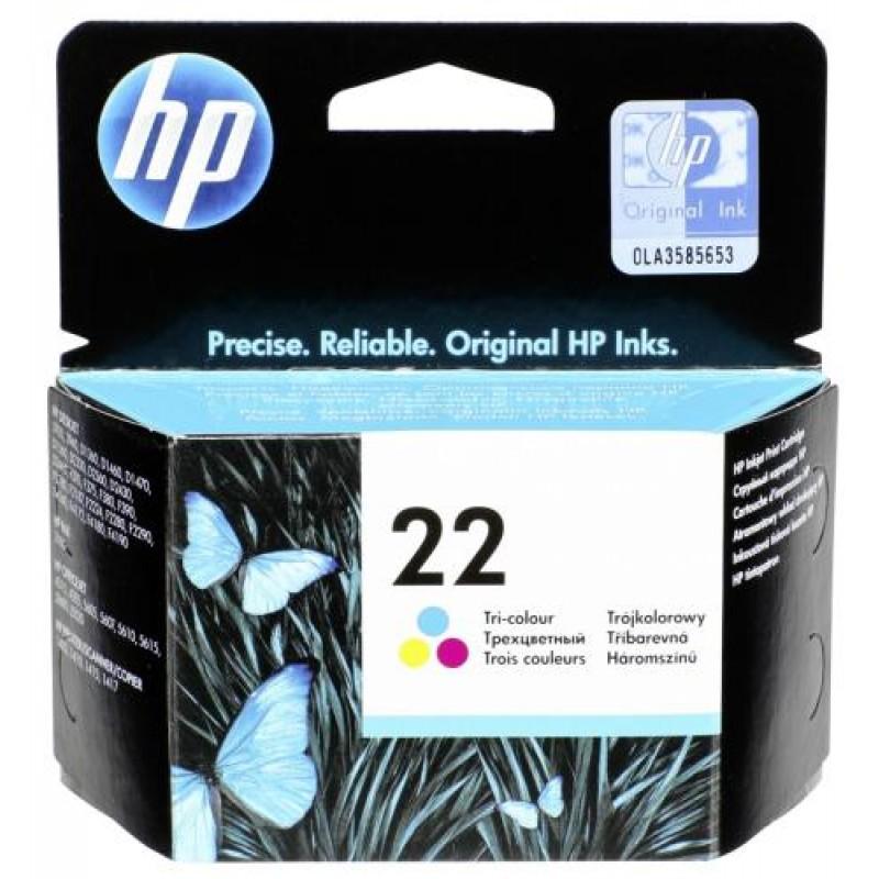 HP C 9352 AE ink cartridge color No 22