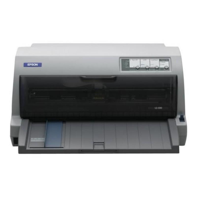 Epson LQ-690 dot matrix printer Grey