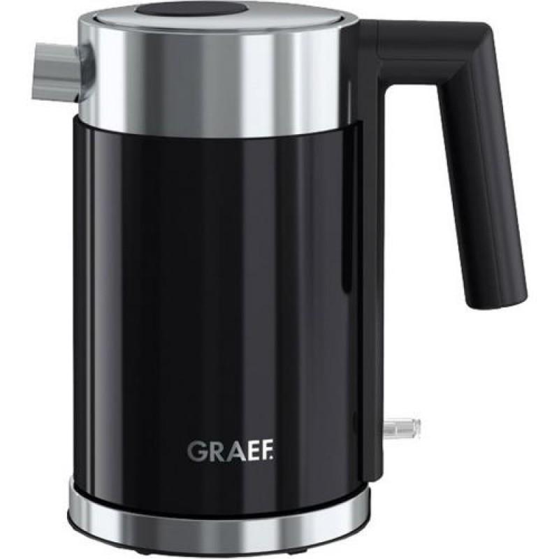 Graef WK 402 electric kettle 1 L Black 2015 W