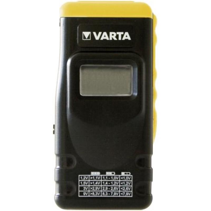 Varta 891101401 battery tester Black,Yellow