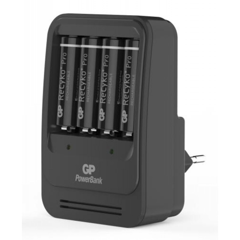 GP Batteries PowerBank PB570 Household battery AC Black