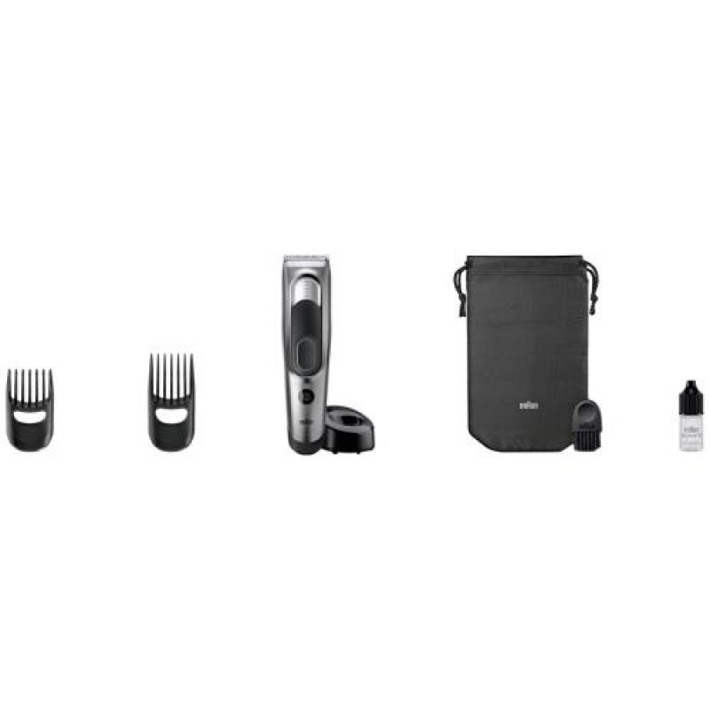 Braun HC 5090 Black,Grey Rechargeable
