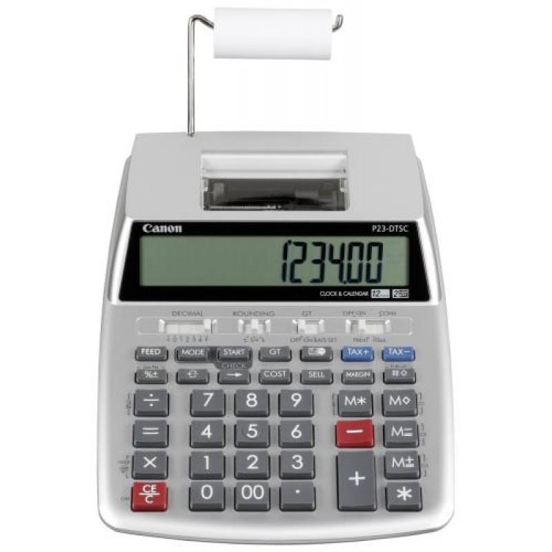 Canon P23-DTSC calculator Desktop Printing Silver