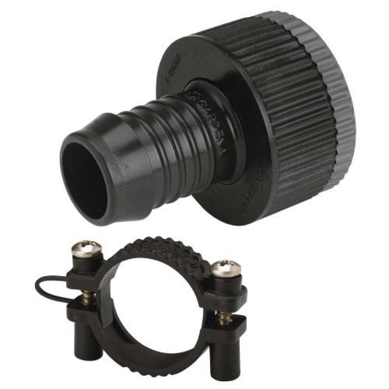 Gardena Adapter Piece Black