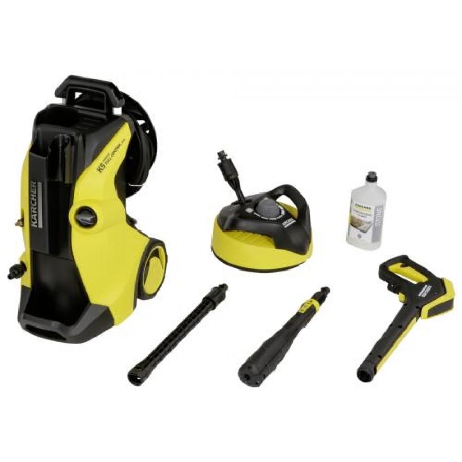 Kärcher K 5 Premium Full Control Plus Home pressure washer Upright Electric Black,Yellow 500 l/h 2100 W