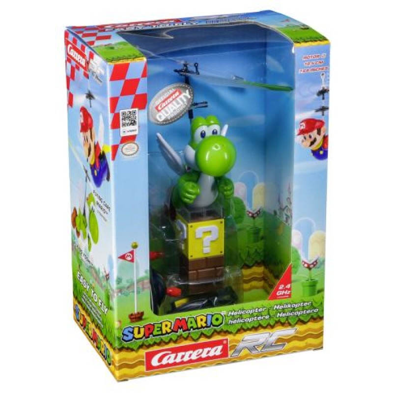 Carrera Toys Super Mario - Flying Cape Yoshi Radio-Controlled (RC) helicopter Ready-To-Fly (RTF) Electric engine Multicolor