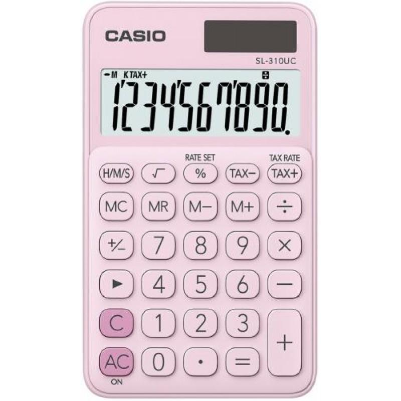 Casio SL-310UC-PK calculator Pocket Basic Pink