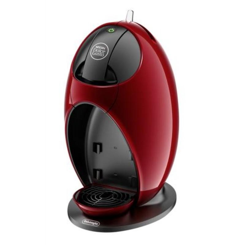 DeLonghi JOVIA Freestanding Pod coffee machine Red 0.8 L Semi-auto