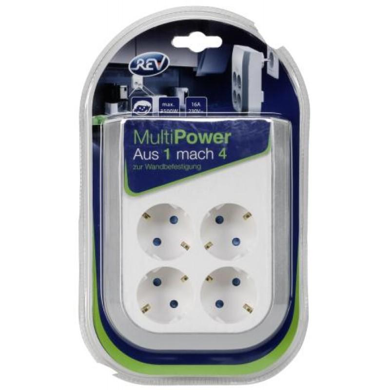 REV 0020340112 socket-outlet White