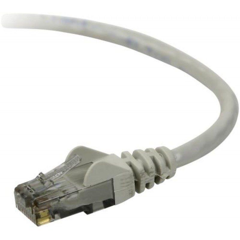 Belkin UTP CAT6 15m networking cable U/UTP (UTP) Grey