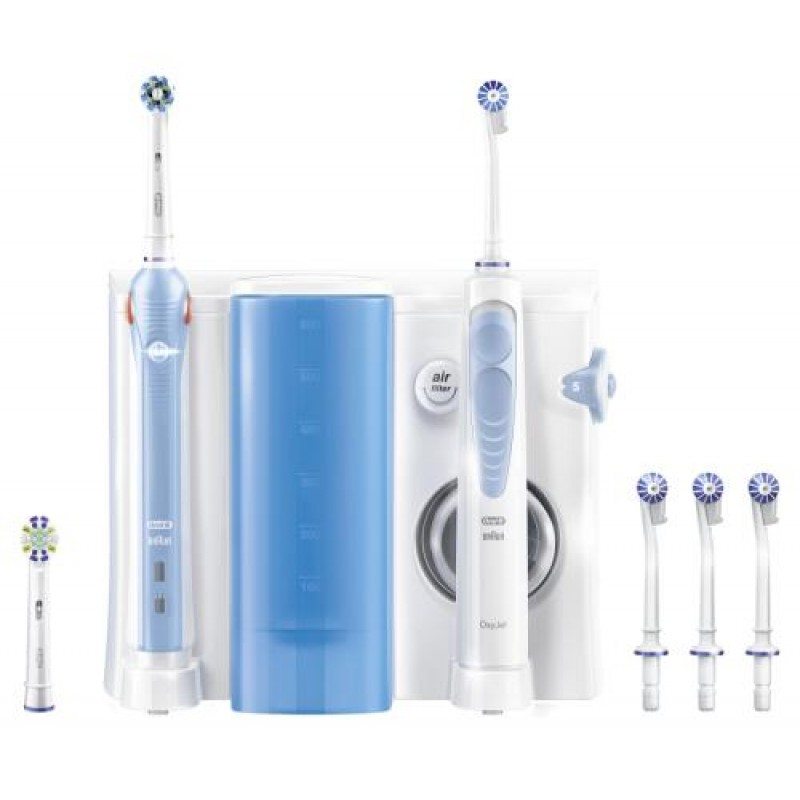 Oral-B Health Center Adult Rotating-oscillating toothbrush Blue,White