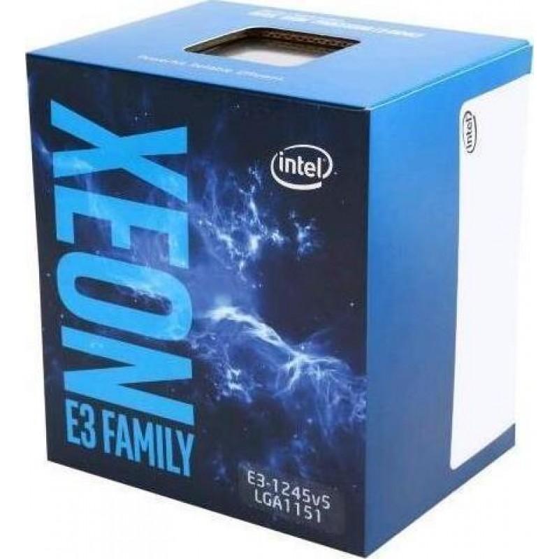 Intel Xeon E3-1245V5 processor 3.5 GHz Box 8 MB Smart Cache