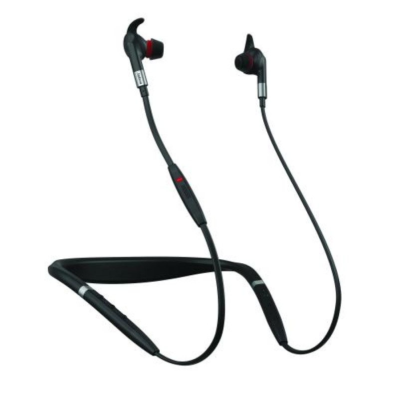 Jabra Evolve 75e mobile headset Binaural Neck-band Black