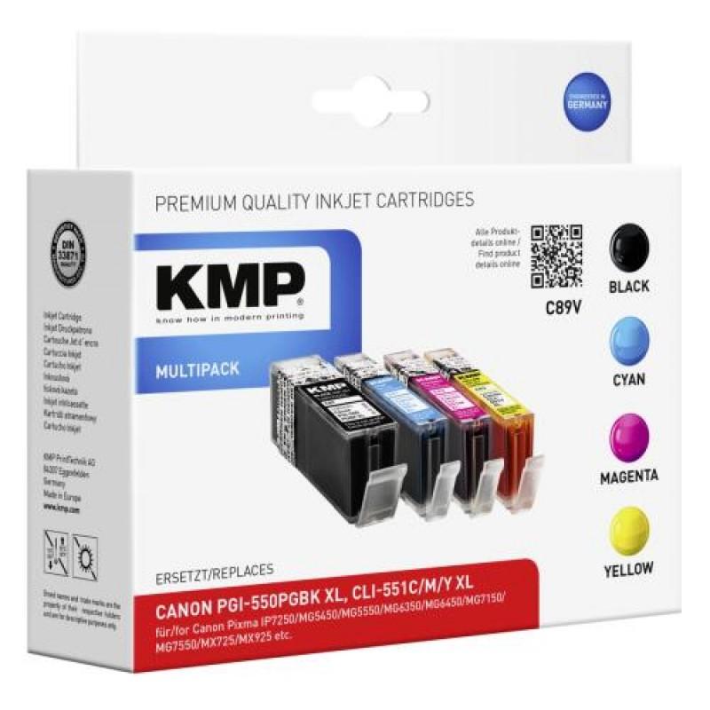 KMP 1518,0050 ink cartridge Black,Cyan,Magenta,Yellow Multipack 4 pc(s)
