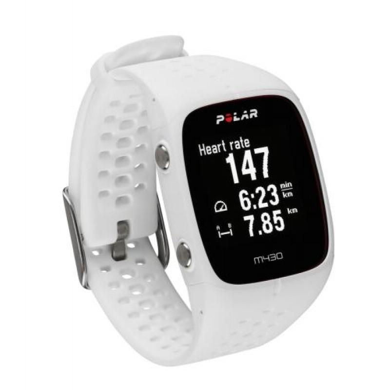 Polar M430 sport watch White 128 x 128 pixels Bluetooth