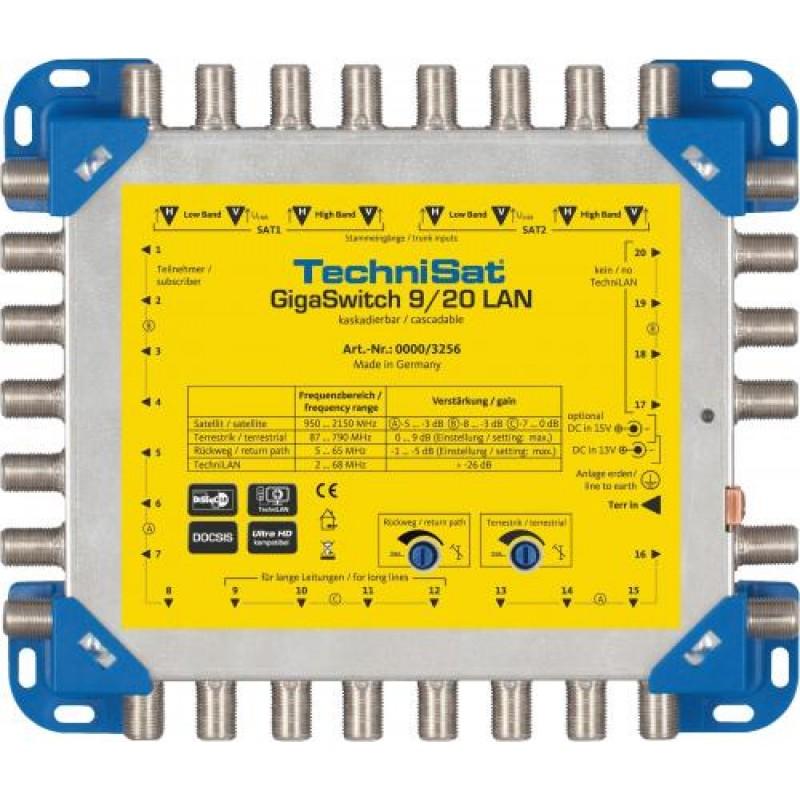 TechniSat GIGASWITCH 9/20 LAN, Multischalter