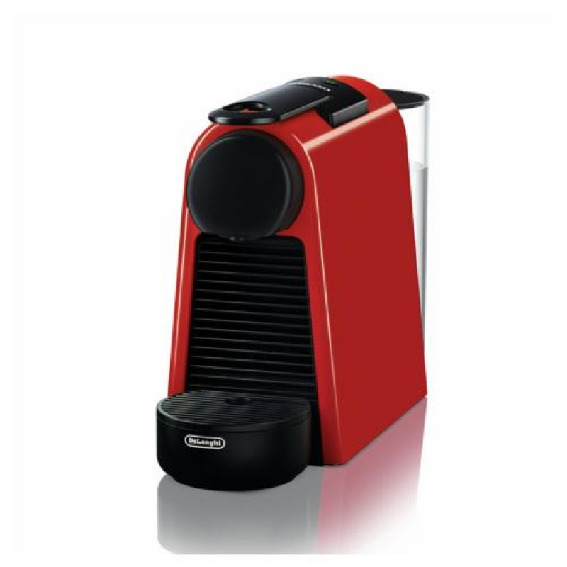 DeLonghi Essenza Mini EN 85.R coffee maker Freestanding Pod coffee machine Black,Red 0.6 L Fully-auto
