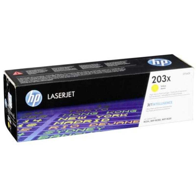 HP 203X Original Yellow 1 pc(s)