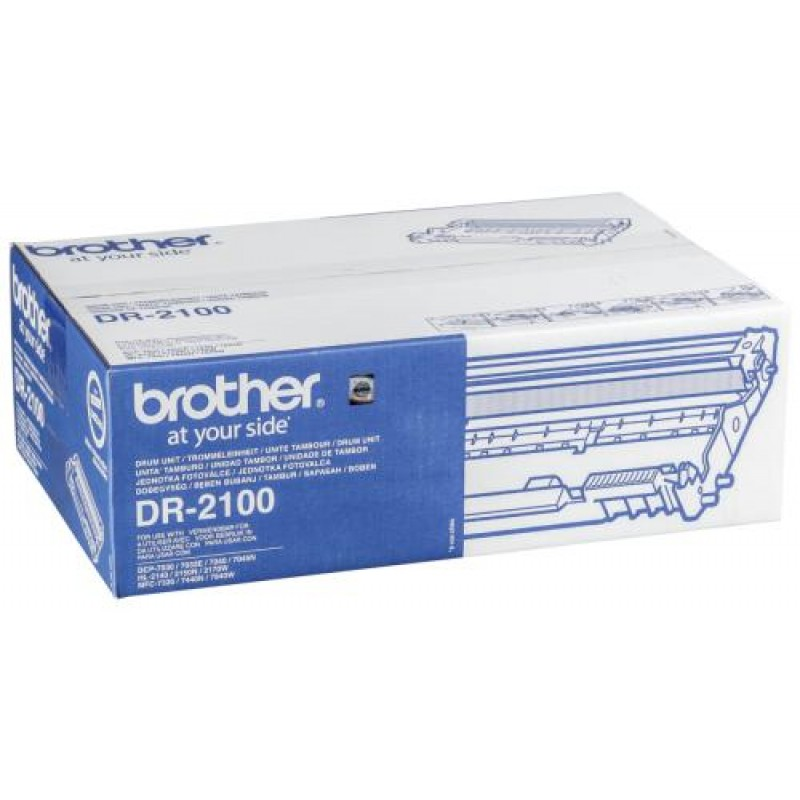 Brother DR2100 printer drum Original Black