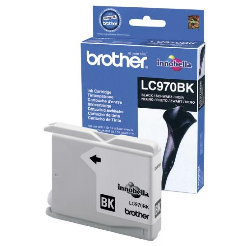 Brother LC970BK Original Black 1 pc(s)