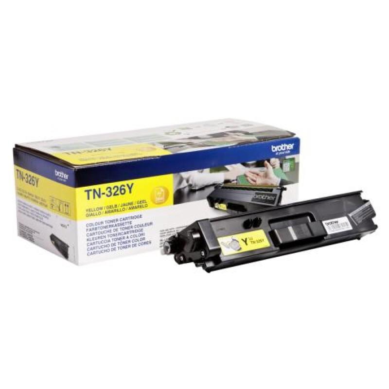 Brother TN-326Y toner cartridge Original Yellow 1 pc(s) Black,Yellow