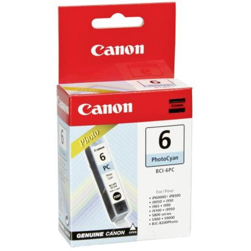 Canon BCI-6PC Original Photo cyan 1 pc(s) Yes