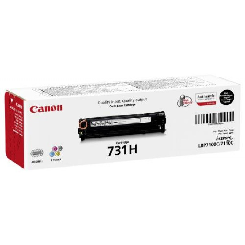 Canon 731H Original Black 1 pc(s)