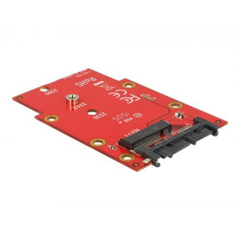 DeLOCK 62636 interface cards/adapter Internal M.2 Red